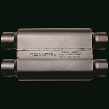 2.75 Dual IN Mild Sound Flowmaster 527504 50 Big Block Muffler 2.50 Dual OUT
