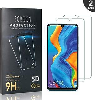 G/én/érique LAFCH Verre Tremp/é P30 Lite, Protecteur d/écran pour Huawei P30 Lite Anti Rayures Anti Fingerprint 2 Pi/èces sans Bulles Prot/ége /écran