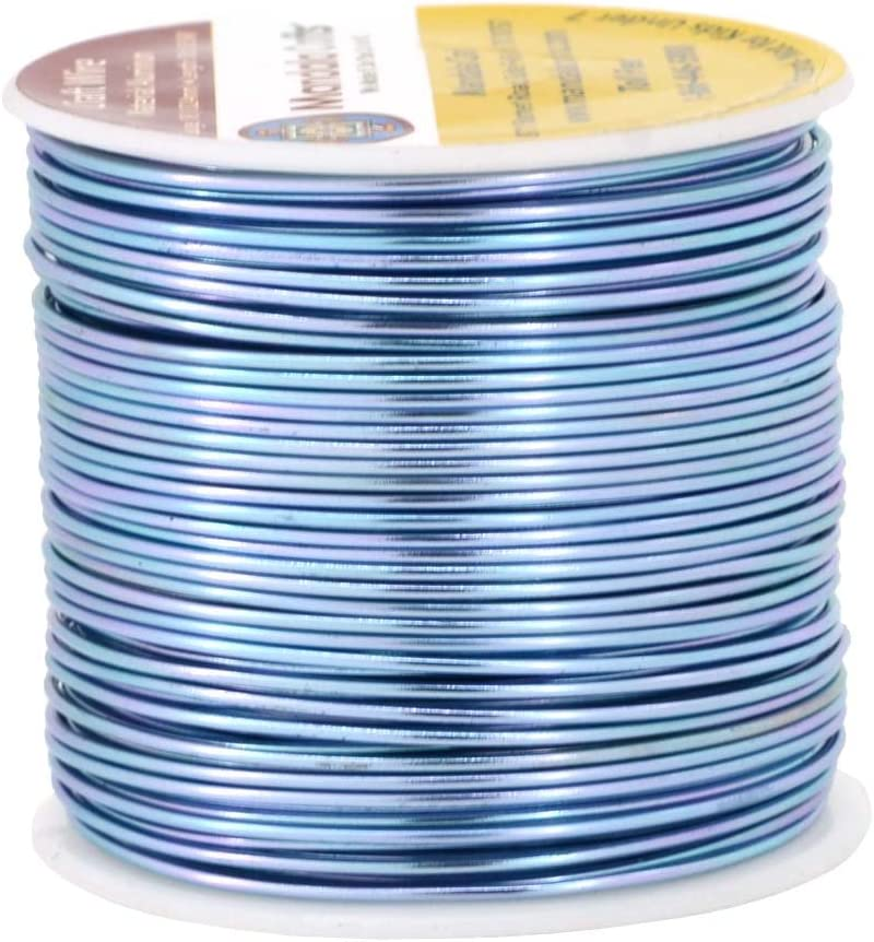 18 Gauge Aluminum Wire 1.0 mm Gold Fuchsia color  Beading Jewelry Making Cord Wire 306090120 Ft