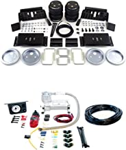 Air Lift 57298/25655 Set of Rear Load Lifter 5000 Series w/Load Controller I On-Board Air Compressor Kit for Ford F-250/F-350/FX4 Super Duty Pickup