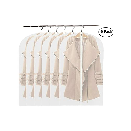 a97b6b129a2a Alily Clear Suit Garment Cover Bag Protector Suit Travel Bag Garment Closet  Organize Clothes Storage Bag