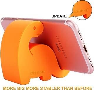 Plinrise Animal Desk Phone Stand, Update Dinosaur Stripe Silicone Office Phone Holder, Creative Phone Tablet Stand Mounts, Size:1.3