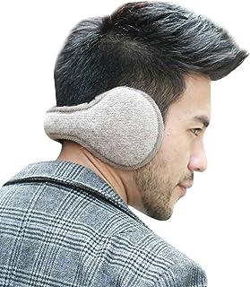 Elfjoy Unisex Ear Warmers Fashion Outdoor Plush Foldable Winter Earmuffs Cold Weather