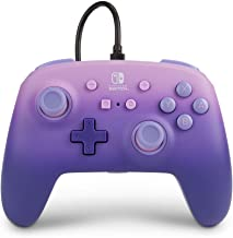 PowerA Enhanced Wired Controller for Nintendo Switch - Lilac Fantasy, Purple, Gamepad, Wired Video Game Controller, Gaming...