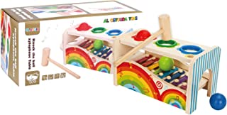 Al Ostoura Toys Hand Xylophone - All Ages Educational Wooden Toy