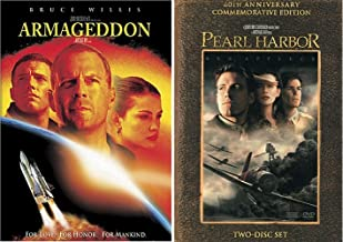 Armageddon and Pearl Harbor Ben Affleck Action Double Feature 2 DVD Set