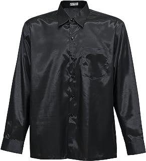 Thai Silk Men's Long Sleeve Shirt