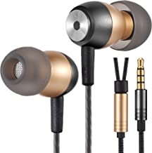 Betron GLD60 Noise Isolating in Ear Earphones Headphones for iPhone, iPod, iPad, MP3 Players, Samsung, Nokia, HTC, Nexus, BlackBerry etc (GLD60)