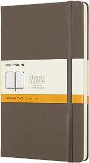 モレスキン ノート カラーノート ノートブック ハードカバー ルールド(横罫)ラージ アースブラウン QP060P14