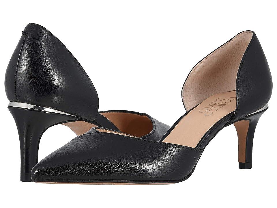 Franco Sarto Daisi (Black Leather) Women
