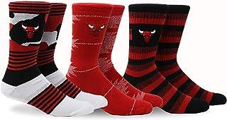 Pkwy NBA Court Crew Socks, 3pk