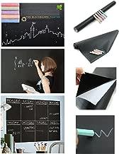 KABEER ART Waterproof Chalkboard Chalk Board Blackboard Removable Vinyl Wall Sticker Decal (45 x 200 cm)