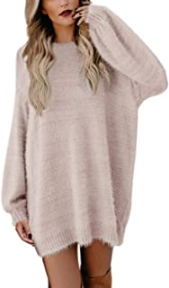 Women's Crewneck Oversized Loose Long Pullover Sweater...