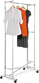 Honey-Can-Do Chrome Square Tube Garment Rack
