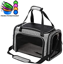 Coopeter Luxury Airline Approved Pet Travel Carrier for Dog & Cat