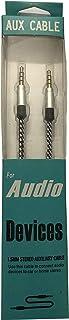 Dexim DAKSC0001 Aux Kablo, Siyah,Bağlayıcı 2: 3.5mm Aux,Bağlayıcı 1: 3.5mm Aux