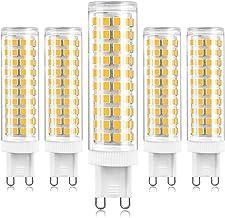 G9 LED Light Bulbs, 12W, 3000K Warm White, 1200Lm, 120W Halogen Bulbs Equivalent, Energy Saving LED Lamps, CRI>80, Non Dim...