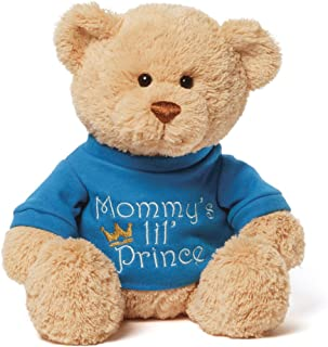 Gund Mommy's Little Prince T-shirt Teddy Bear Stuffed Animal