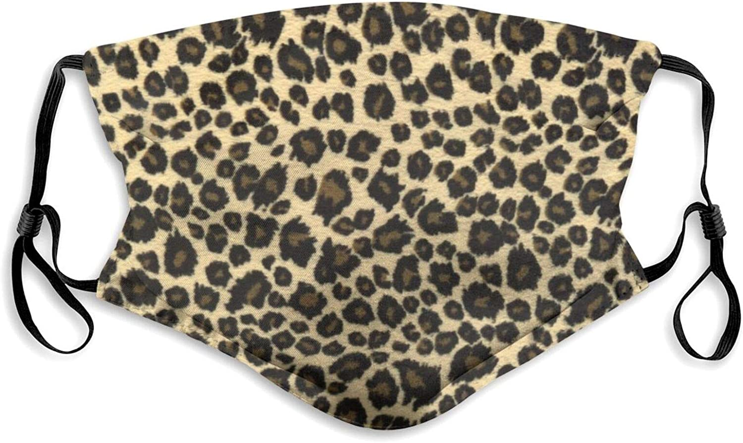 Leopard Max Nippon regular agency 47% OFF Face Mask Washable for Women with Adjustable Balaclavas