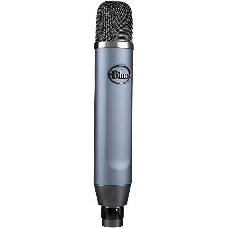 Blue Ember XLR Condenser Mic for Recording and Streaming, Custom Cardioid Capsule and Mic Stand Mount