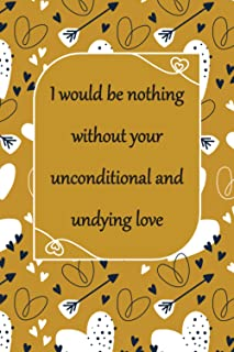 I Would Be Nothing Without Your: Cute Valentines Day / Couples Gifts for Him and Her | Best Gift for your Boyfriend / Girl...
