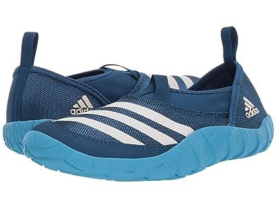 adidas Outdoor Kids Jawpaw (Toddler/Little Kid/Big Kid) (Legend Marine/Chalk White/Shock Cyan) Boys Shoes