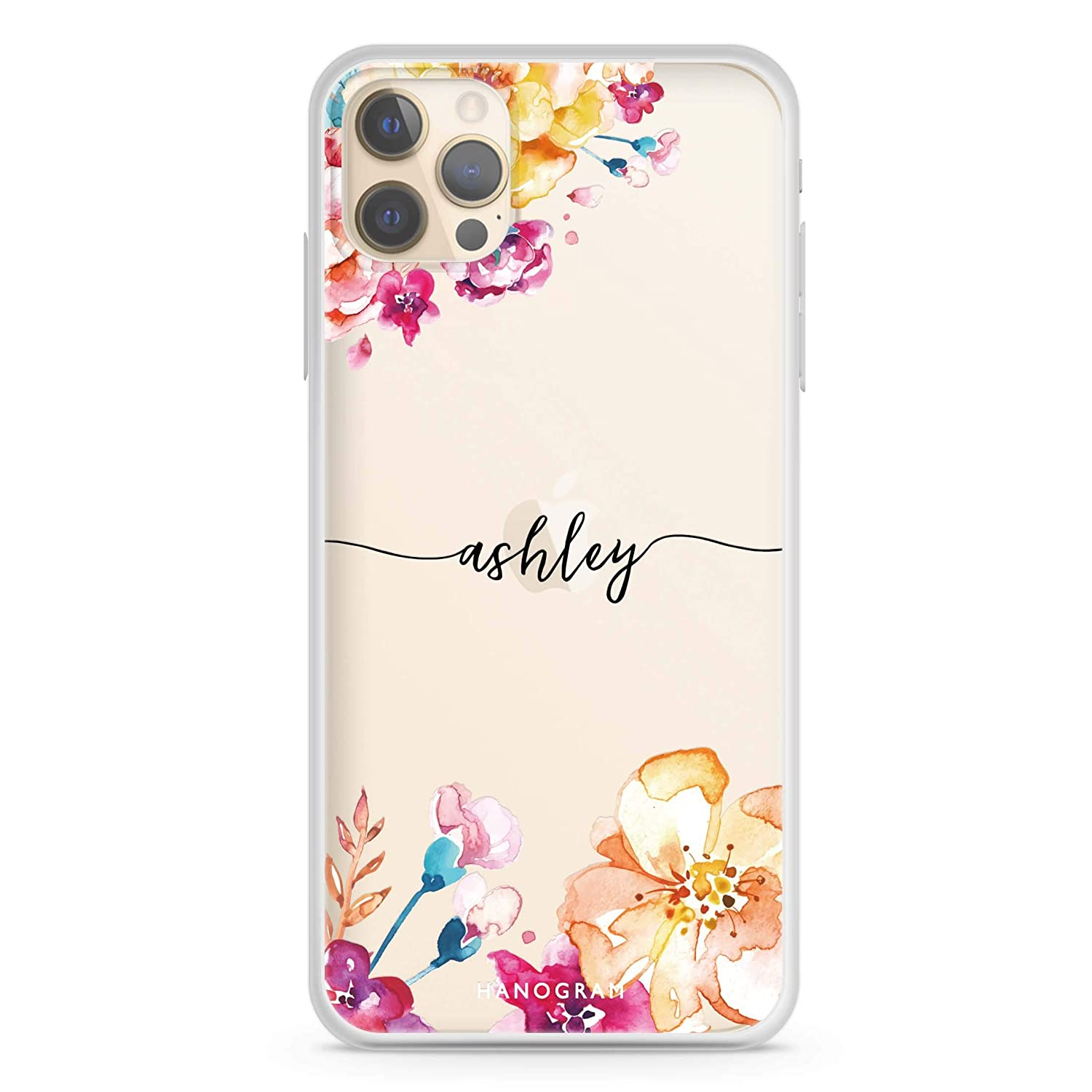 Art of 25% OFF Flowers safety iPhone 12 Pro Clear Soft iPh Case Max