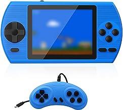 ETPARK Consoles De Jeux Portable, Console de Jeu Retro, avec 500 Jeux Classiques Écran Couleur de 3,5 Pouces Prise en Char...