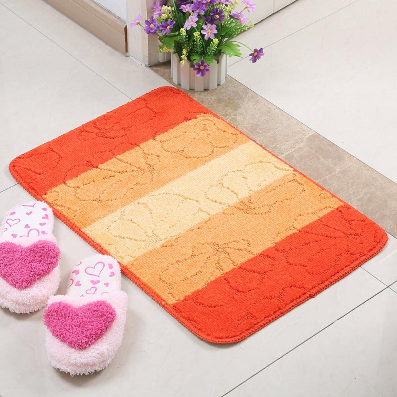Floor Mat Foot Pad Water Absorption And Anti-skidding Mat Bathroom Mat Kitchen Mats Door Mats Indoor Mats Door Mats-B 60x90cm(24x35inch)