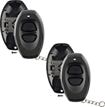 Discount Keyless Remote Car Key Fob Cover Replacement Case Shell Button Pad For BAB237131-022 (2 Pack)