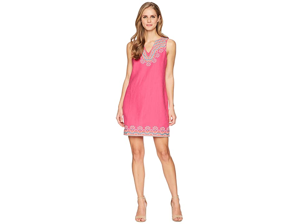 Hatley Portia Dress (Fuchsia Sanibel Shells) Women