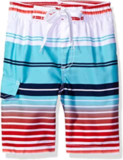Kanu Surf Boys' Echo Quick Dry UPF 50+ Beach Swim Trunks