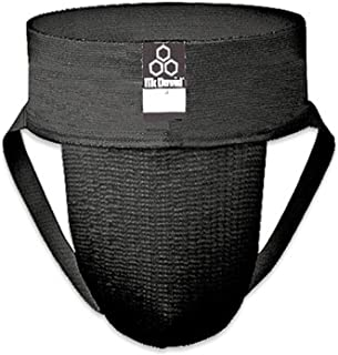 McDavid Classic Logo 3110 Athletic Supporter, 2-Pack Adult Black Small