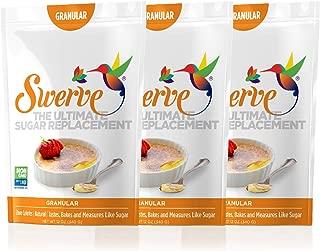 Swerve Sweetener, Granular, 12 Ounce, 3 Pack
