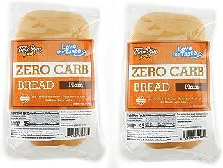 ThinSlim Foods Love-The-Taste Low Carb Bread, 2pack (Plain)