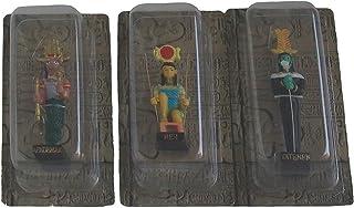 置物樹脂の像の大きさを持つ12の雑誌の古代エジプトエジプトの神セット5「高(KA、サテト、Monthou、マート、Neit、Harmachis、Onouris、Benou、ケプリ、Haroeris、Noutと、Moutと) Ancient Eg...