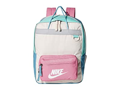 Nike Kids Tanjun Backpack (Little Kids/Big Kids) (Light Orewood Brown/Magic Flamingo/White) Backpack Bags
