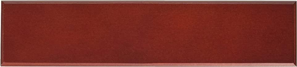 Dacasso School Office Boardroom Meeting Table Top Accessories Rosewood Engraving Plate