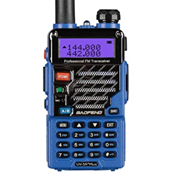 BaoFeng UV-5R Plus Qualette Two way Radio (Royal Blue)