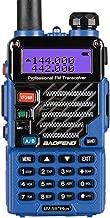 BaoFeng UV-5R Plus Qualette Two way Radio (Royal Blue)