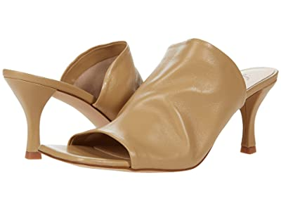 Free People Cara Square Toe Heel (Camel) Women