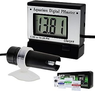NO LOGO L-Yune, Moniteur de pH numérique Mètre ATC 0.00~14.00pH w / 1.5M Long câble électrode Sonde Spa réservoir Pool Lab...