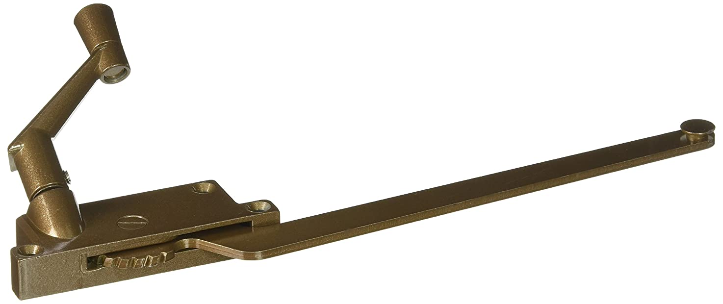 Prime-Line Products H 3915 Wood Casement Operator with 9-Inch Surface Mount, Right Hand, Bronze