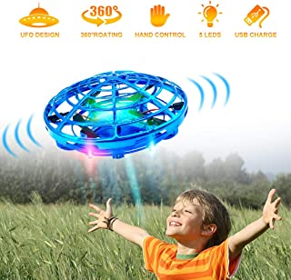 Hand Drones, Hand Operated Drones, econoLED Boy Toys Kids Hand Controlled Flying Ball..