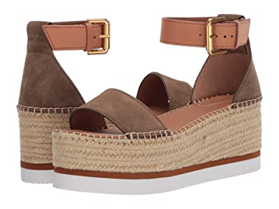 See by Chloe SB32201A (Crosta Alghe/Natural Calf Cuoio) Women