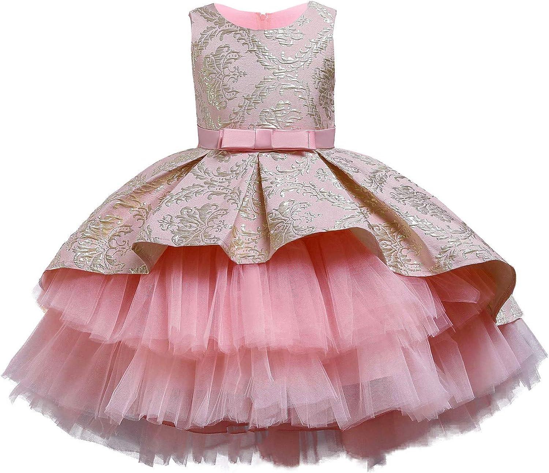 FKKFYY Girls High Low Dress