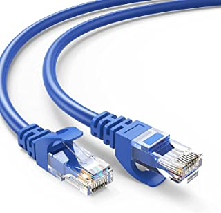 BOOC Ethernet Cable, Professional Network Patch Cable 40Gbps 2000Mhz S/FTP LAN Wires, High Speed Internet Cable Cord with ...