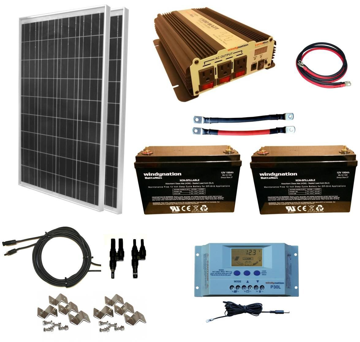 best solar panel kit for houseboat