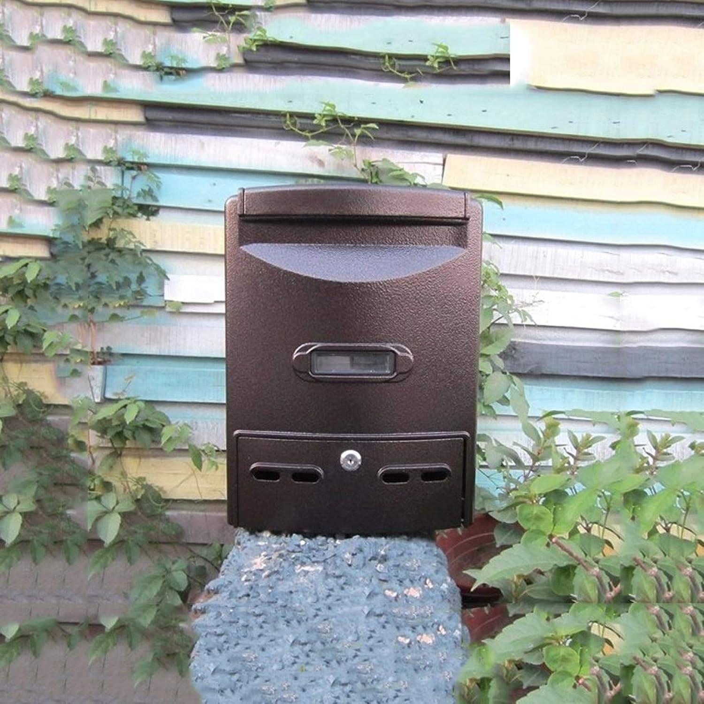 HLQW ヨーロッパのレターボックスRainproof屋外の壁掛けコレクションボックス