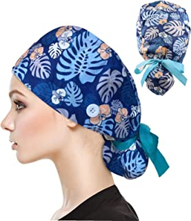 Button Headbands for Women Beanie Cap Yoga Sports Workout at Home Turban Headwrap for Everyone Protect Your Ears